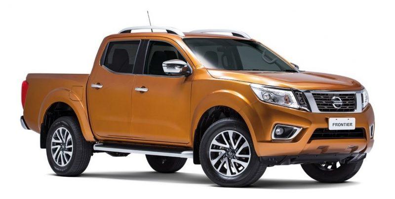 2020 Nissan Frontier - Orange Exterior