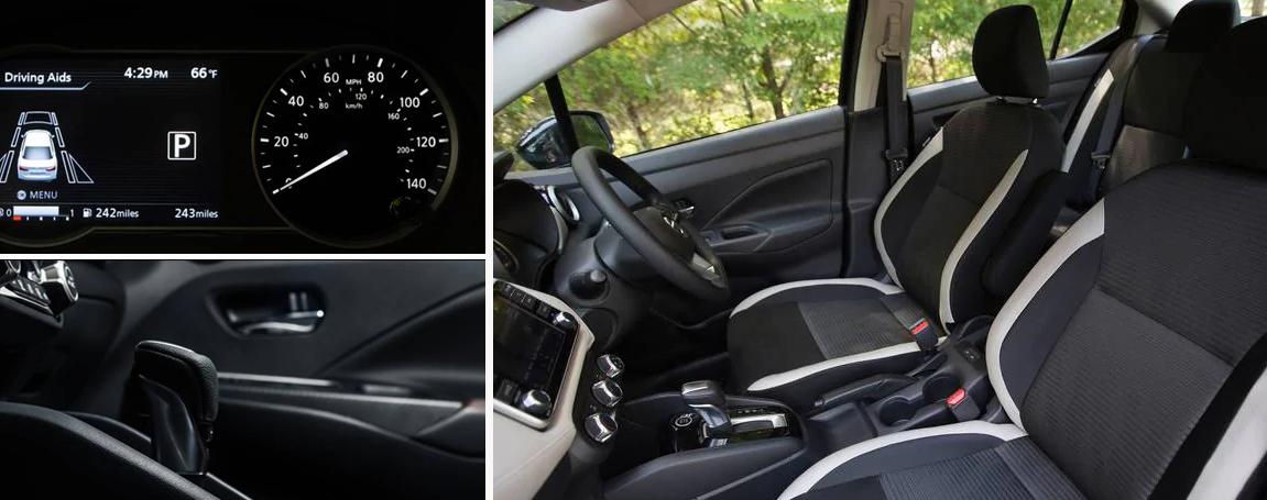 Nissan Versa - Comfortable Interior