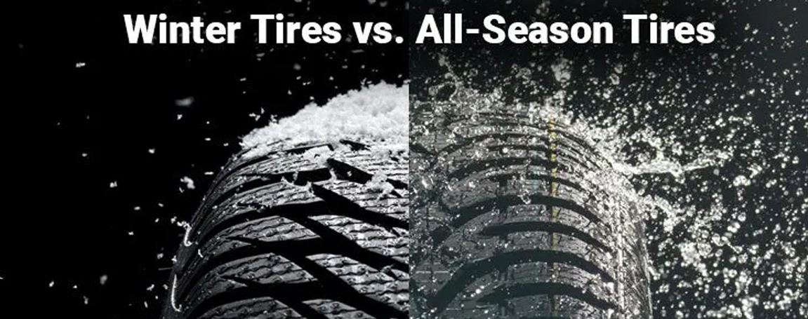 Winter Tires vs. All-Season Tires