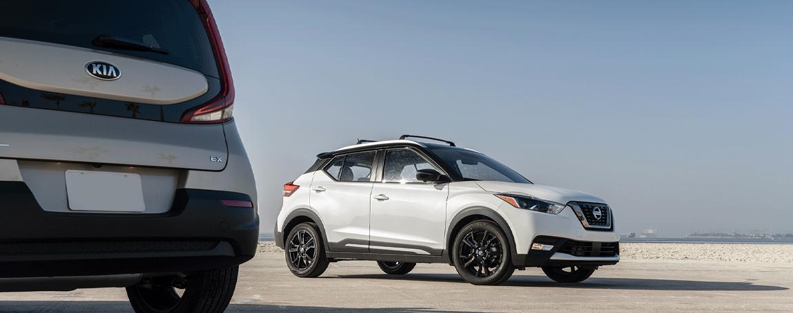 Exterior Design - Nissan Kicks vs Kia Soul